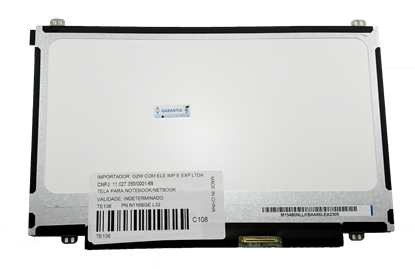 Imagem de Tela 11.6 Led Slim B116xw03 N116bge-l41 Netbook Acer One 722