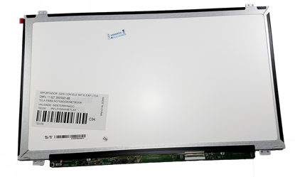 Imagem de Tela LED Slim - 15.6 - 1366x768 - 40 Pinos - Conector Direita